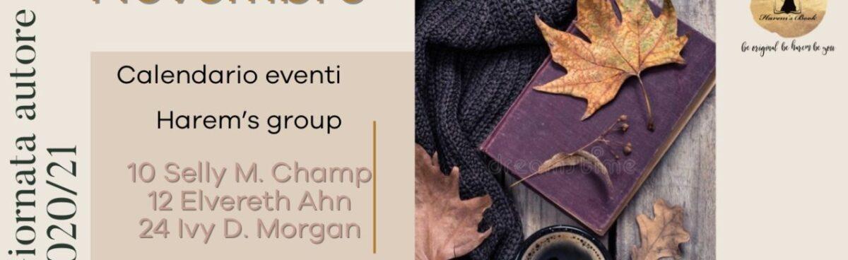 Calendario Giornata autore in Harem's group 2020 2021